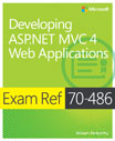 Exam Ref 70-486: Developing ASP.NET MVC 4 Web Applications cover