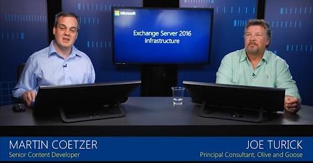 Microsoft Exchange Server 2016 Infrastructure