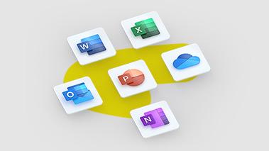 Office 365 Education application logos