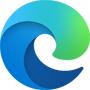 Microsoft Edge blue and green swirl