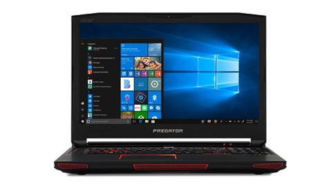 A Windows Mixed Reality PC showing a Windows 10 start screen.