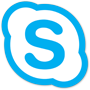 Skype for Business logo, download the Skype for Business app on Google Play