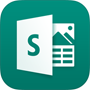 Sway logo, download the Sway app in the App store