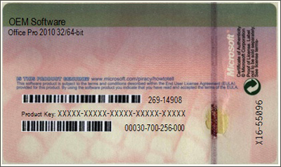 Certificate of Authenticity (OEM software)