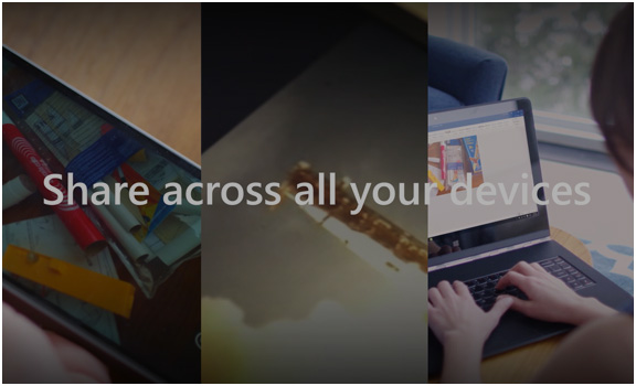 Multiple devices featuring Office 365