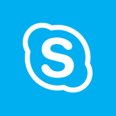 Microsoft Skype for Business logo, get information about the Skype for Business mobile app in page