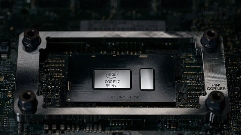 Intel 8th gen chip technology