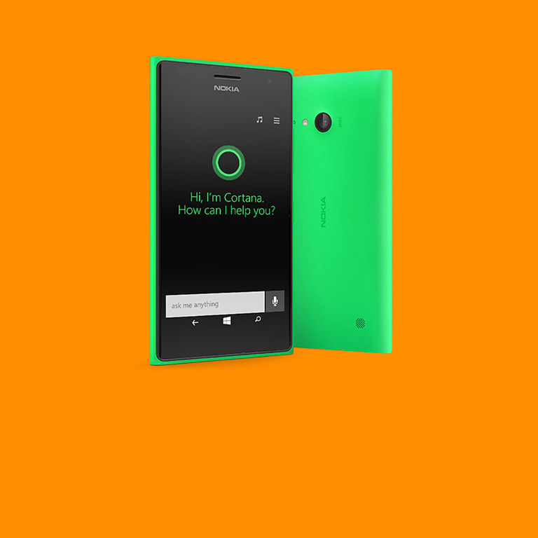 Meet Cortana. Available now on the Lumia 735.