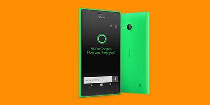 Meet Cortana. Available now on the Lumia 735.