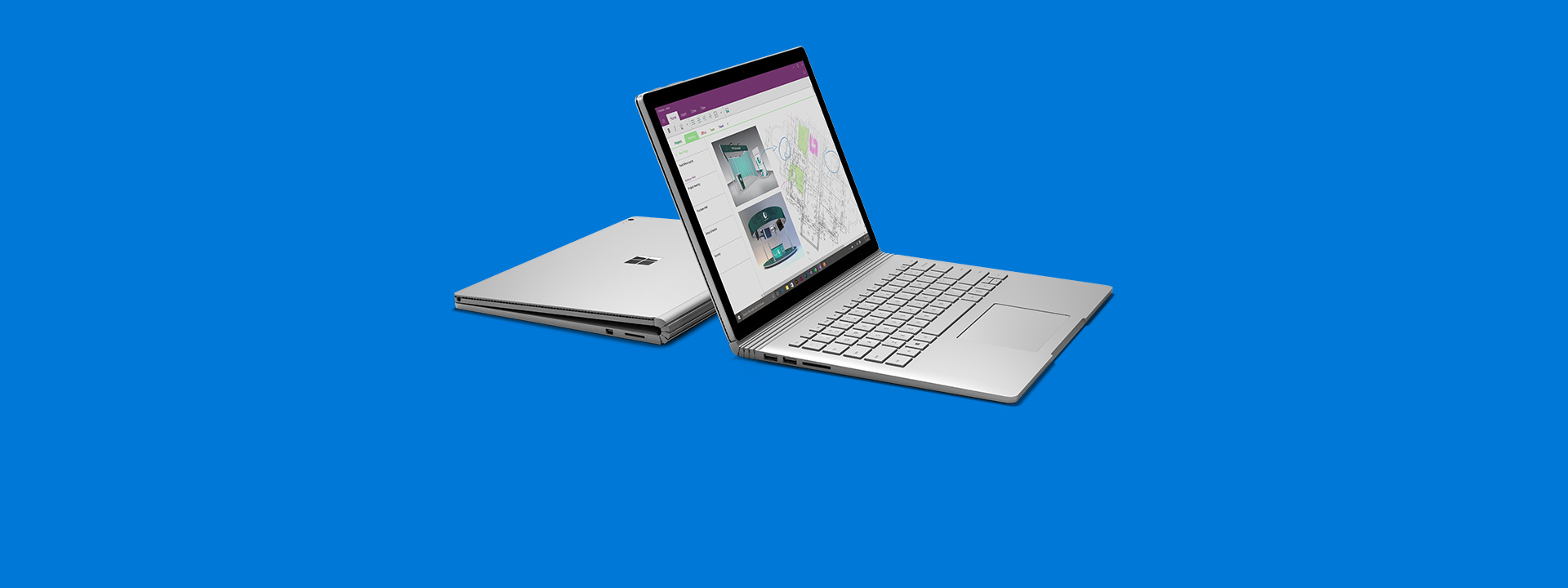 Two Surface Books, learn more