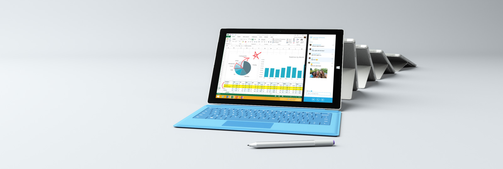 Introducing the new Surface Pro 3. Shop now.