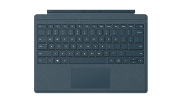 Surface Pro Signature Type Cover in Cobalt Blue