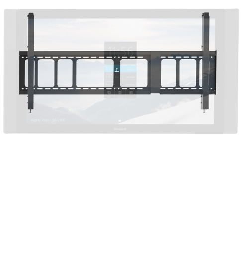 Wall mount for Surface Hub.