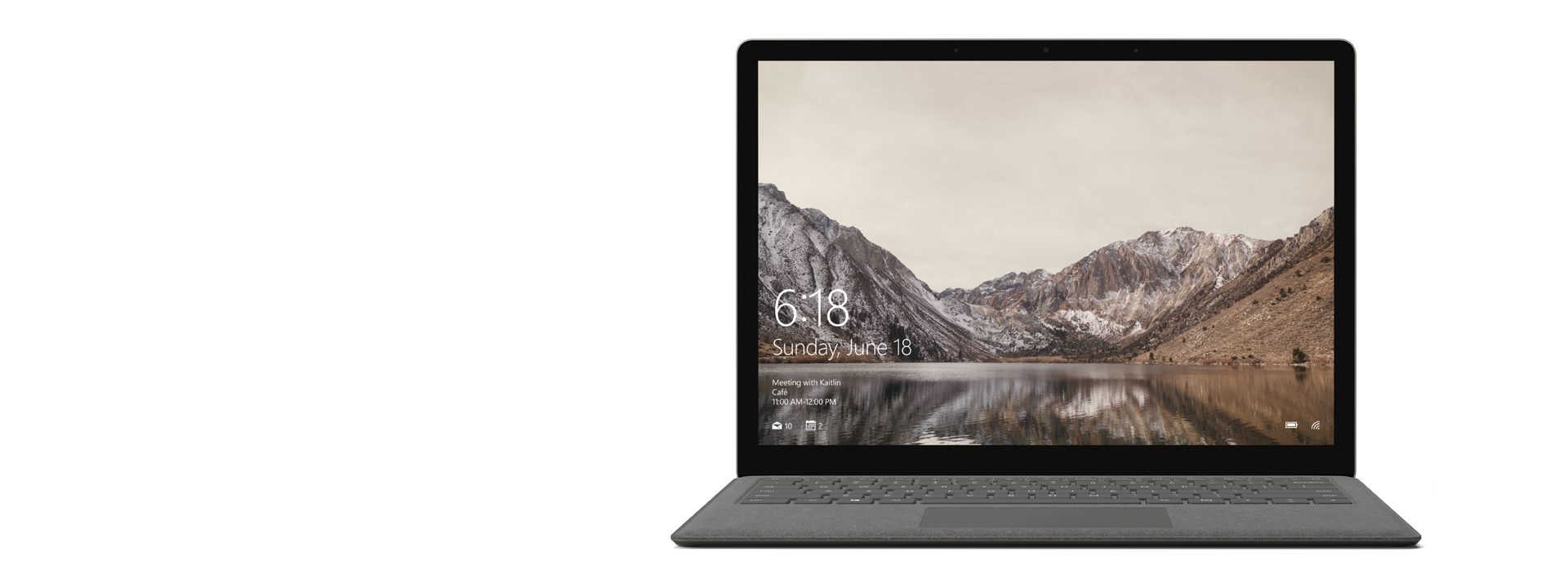 Graphite Gold Surface Laptop