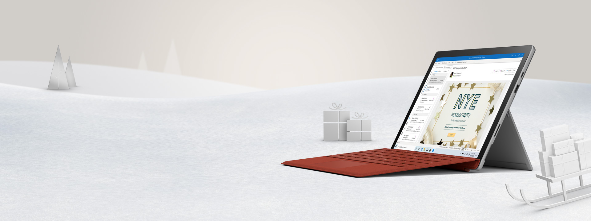 Give possibility with a new Surface Pro 7