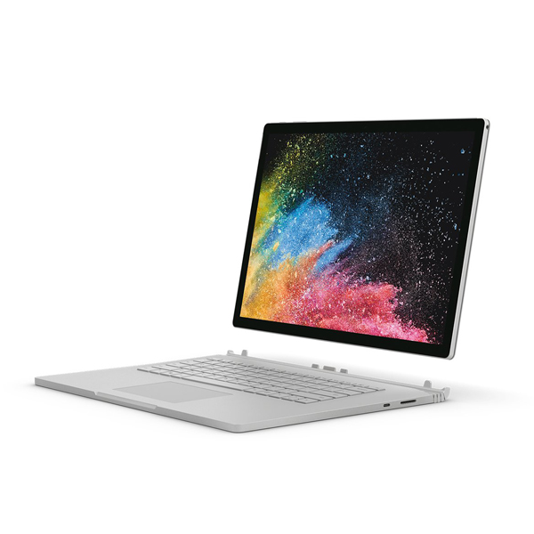 render of Surface Book 2 display detached from keyboard