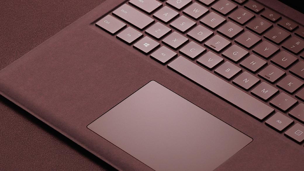 Surface Laptop Alcantara® keyboard.