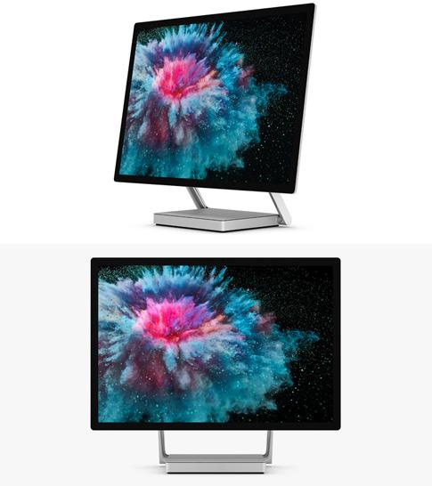 render of Surface Studio 2