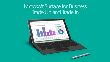 Microsoft Surface for Business Trade Up Trade and In image
