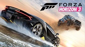 Forza Horizon 3 screen