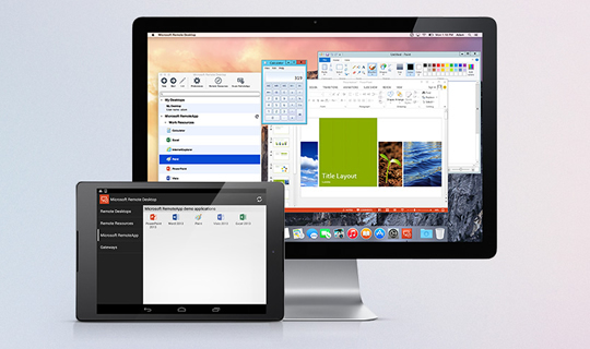 Run Windows desktops and applications on any device at scale