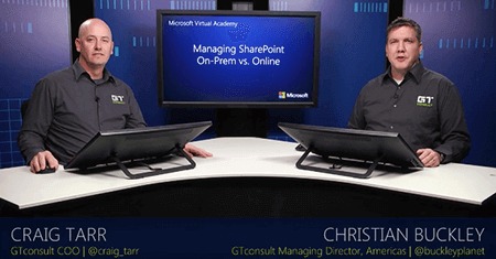 Managing SharePoint On-Premises vs. SharePoint Online
