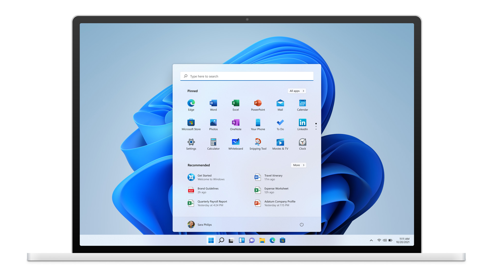 A look at Microsoft windows 11