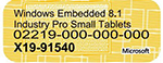 Small Embedded Product COA