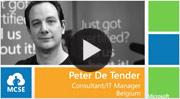 Peter De Tender video