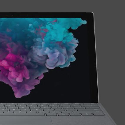 A Microsoft Surface Pro 6