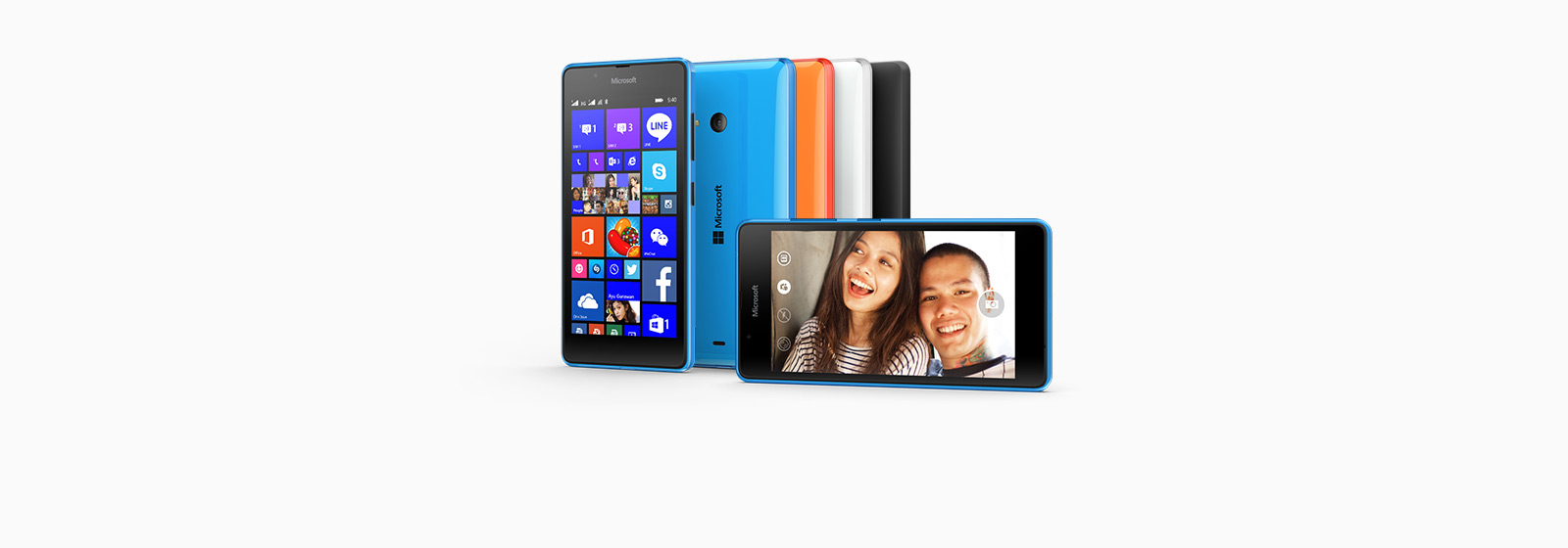 Share more with the Microsoft Lumia 540 Dual SIM.