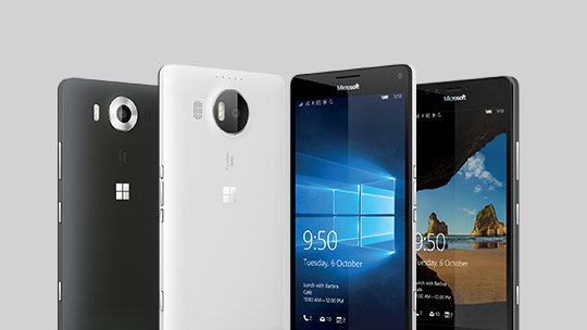 Learn about Lumia 950 and Lumia 950 XL.