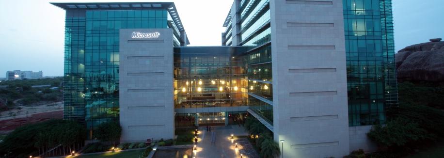 Microsoft Building  Hyderabad Address