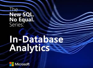 Microsoft SQL Server 2016: In-database analytics