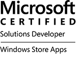 MCSD: Windows Store Apps logo