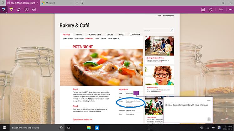 Laptop with Windows 10 Start Menu