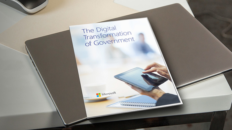 Picture of a Book about the digital transformation of government