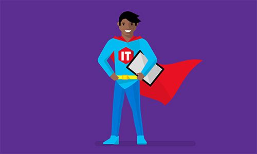 Superman icon for accelerate business success