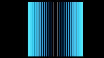 Blue lines, black background