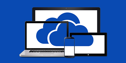 Get 7GB+ free online storage with OneDrive.