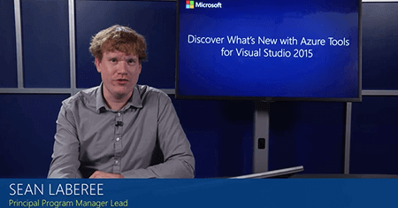 Discover What's New with Azure Tools for Visual Studio 2015