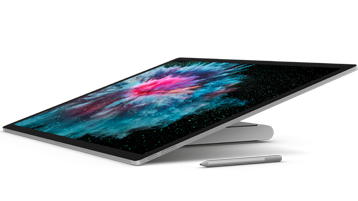 Surface Studio 2 left side view