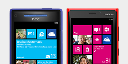 Find the Windows Phone that fits your style.