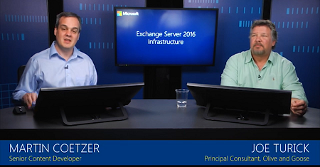 Microsoft Exchange Server 2016 Infrastructure