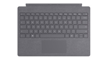 Surface Pro Signature Type Cover in Platinum