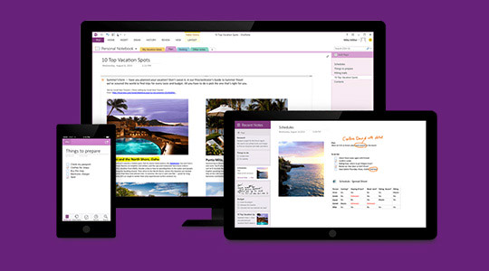 Discover More - OneNote banner