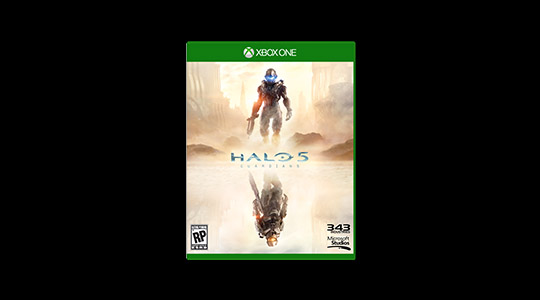 Halo 5 in-store pre-order offer
