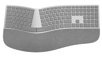 New Surface ergonomic keyboard