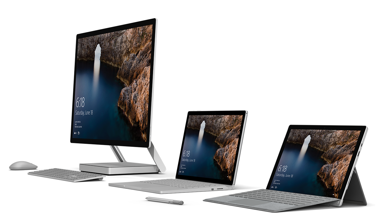 Introducing the new Surface family.