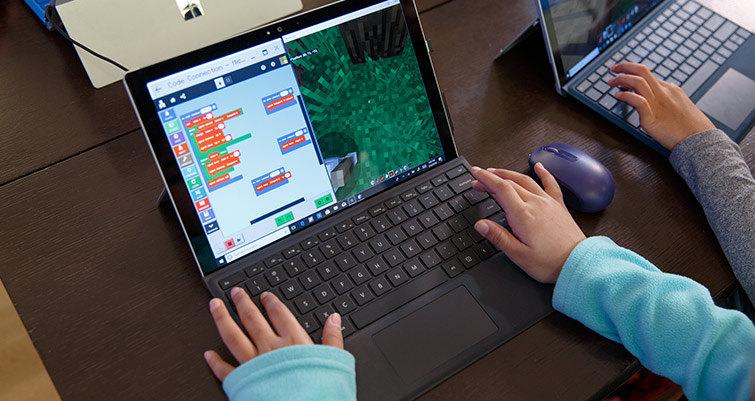 Minecraft coding summer camp